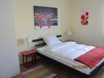 Feriennwohnung Freising Gästezimmer mit französischem Bett